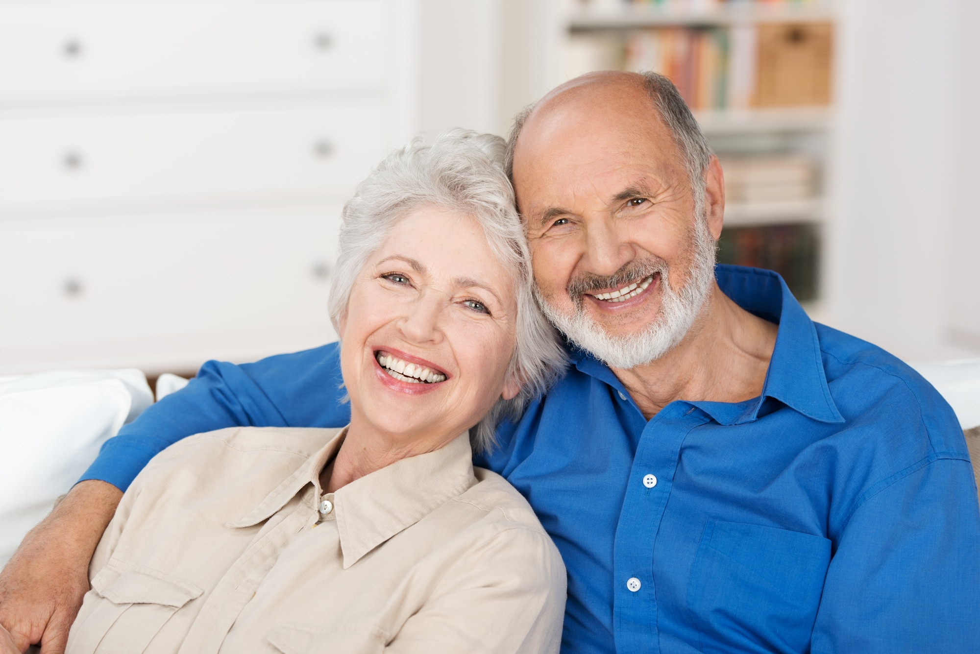 Smiling Happy Seniors Mobile Home Image - Cherrywood Dental Care - All ages Dentistry Savage, MN